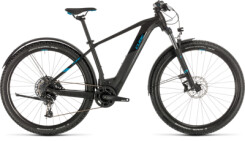 CUBE - Reaction Hybrid EX 625 Allroad 29 black´n´blue
