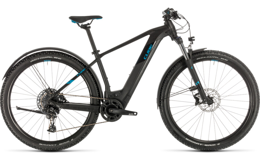 Cube Cube Reaction Hybrid EX 500 Allroad 29 black´n´blue 2020 19