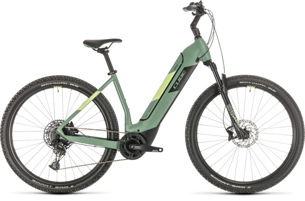 CUBE - Nuride Hybrid EXC 500 green´n´sharpgreen