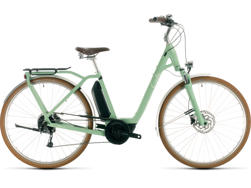 Cube Ella Ride Hybrid 500 green´n´white