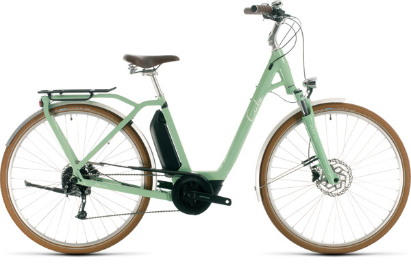 CUBE - Ella Ride Hybrid 400 green´n´white