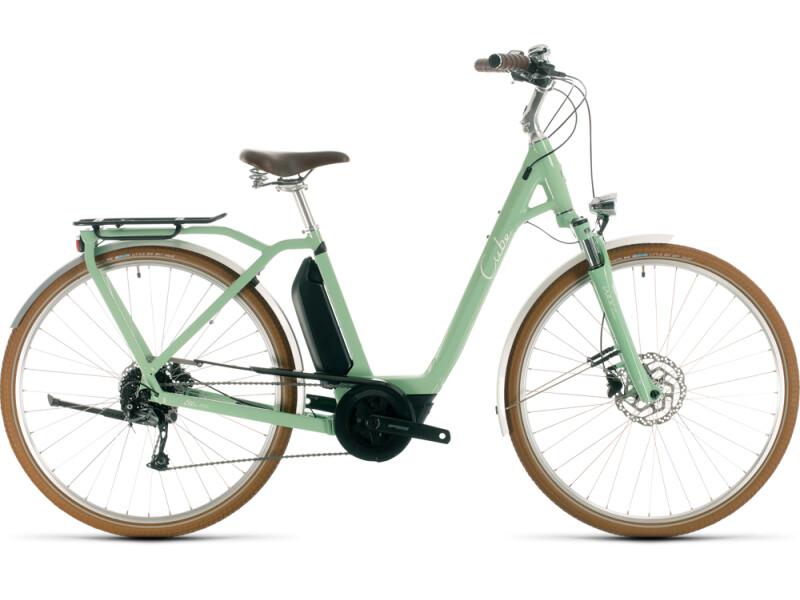 Cube Ella Ride Hybrid 400 green´n´white