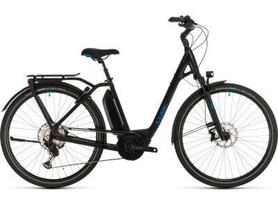 Cube Town Sport Hybrid EXC 500 black´n´blue Easy Entry