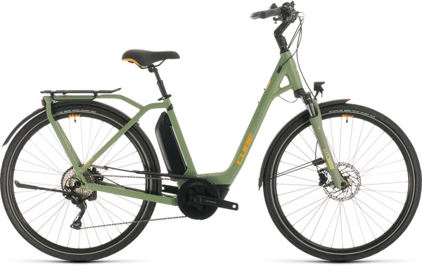 CUBE - Town Sport Hybrid Pro 500 green´n´orange