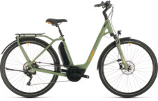 CUBE - Town Sport Hybrid Pro 400 green´n´orange