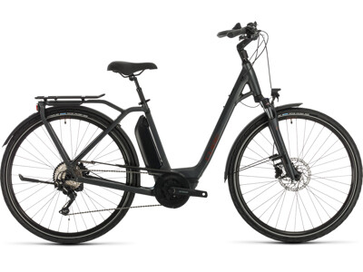 Cube Town Sport Hybrid Pro 400 iridium´n´red Easy Entry