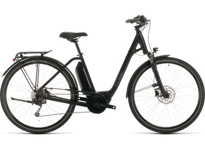 Cube Town Sport Hybrid One 400 black´n´grey Easy Entry