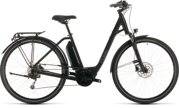 CUBE - Town Sport Hybrid ONE 400 black´n´grey