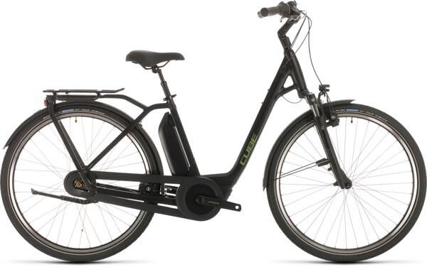 CUBE - Town Hybrid Pro 400 black´n´green