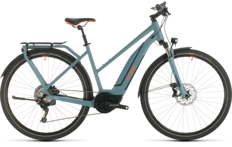 Cube Touring Hybrid EXC 500 blue 'n' orange