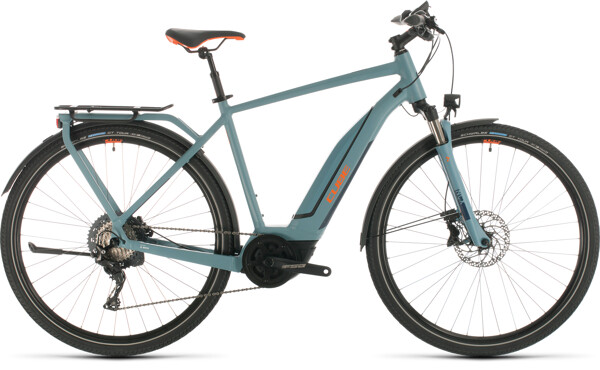 CUBE - Touring Hybrid EXC 500 blue´n´orange