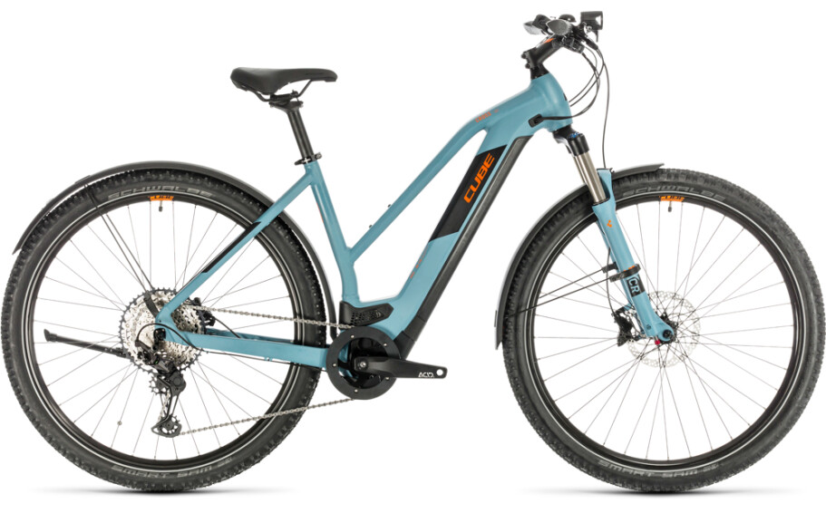 Cube Cube Cross Hybrid Race 625 Trapez Allroad blue´n´orange