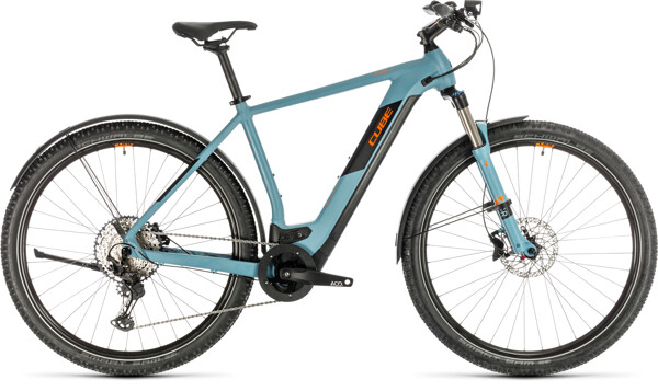 CUBE - Cross Hybrid Race 625 Allroad blue´n´orange