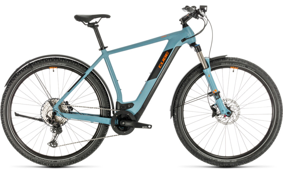 Cube Cross Hybrid Race Allroad 625 blue 'n' orange