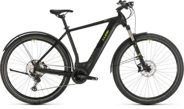 CUBE - Cross Hybrid Race 625 Allroad black´n´green