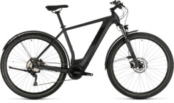 CUBE - Cross Hybrid Pro 625 Allroad iridium´n´black