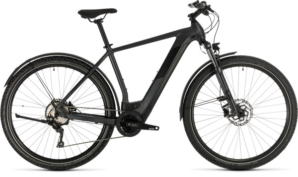CUBE - Cross Hybrid Pro 500 Allroad iridium´n´black