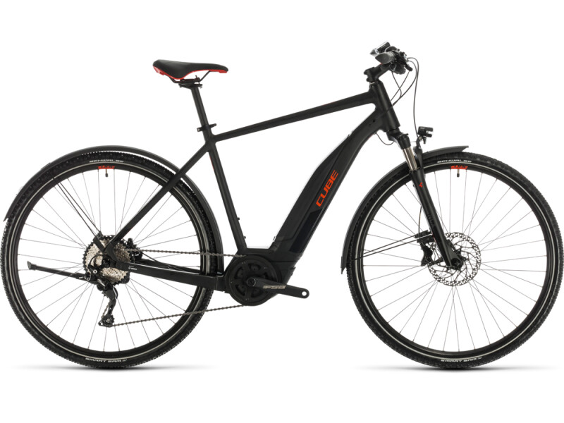 Cube Nature Hybrid EXC 500 Allroad black´n´red
