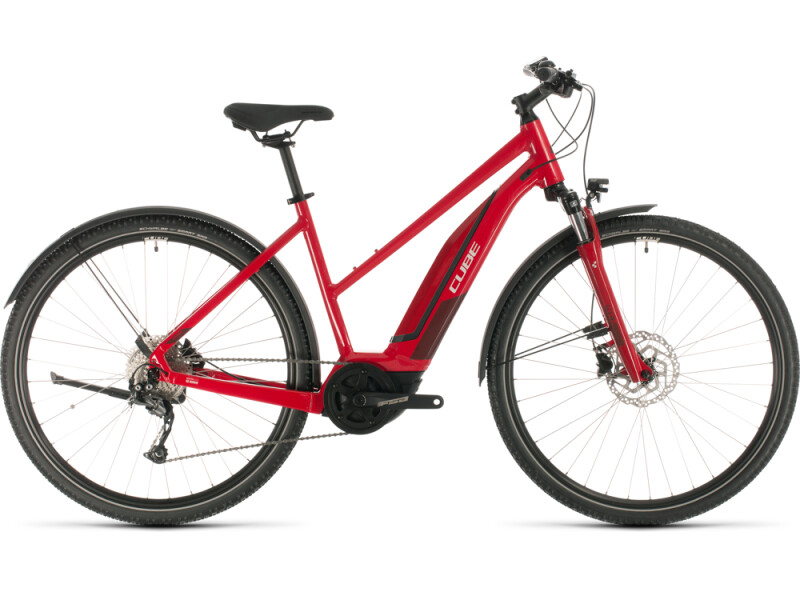 Cube Nature Hybrid ONE 400 Allroad red´n´red