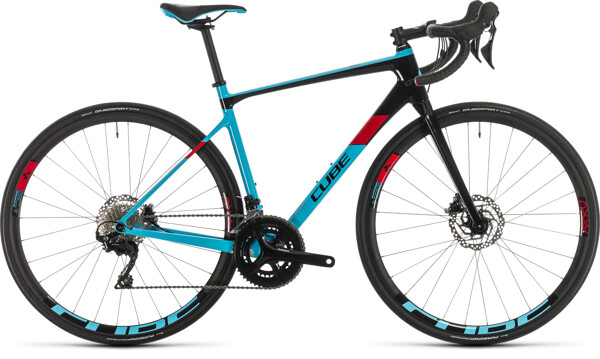 CUBE - Axial WS GTC Pro lightblue´n´red