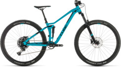 CUBE - Sting WS 120 EXC turquoise´n´black