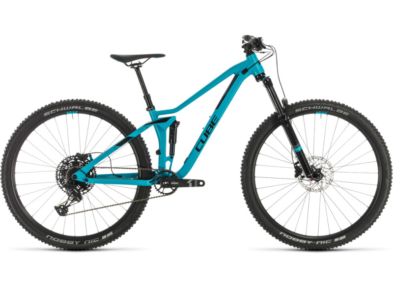 Cube Sting WS 120 EXC turquoise´n´black