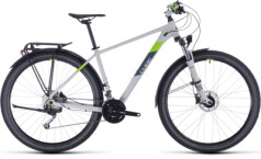 CUBE - Aim SL Allroad lightgrey´n´green