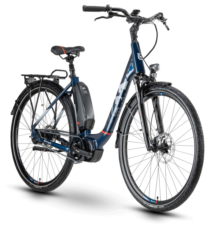 Husqvarna BicyclesEco City 5 2020, blau, 48 & 52cm