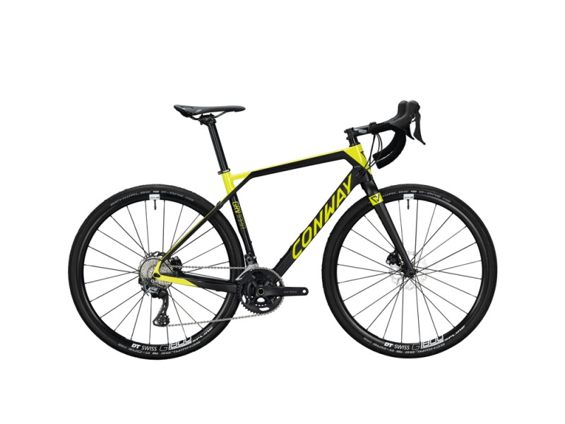 Conway GRV 1000 Carbon schwarz,gelb