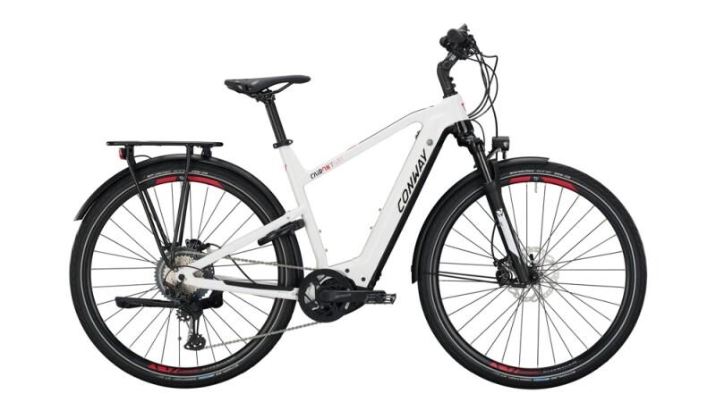 Conway Cairon T 600 schwarz,weiß E-Bike