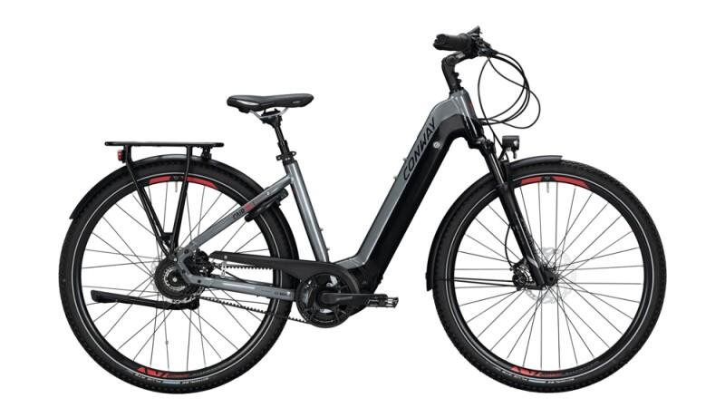 Conway Cairon T 800 E schwarz,silber E-Bike