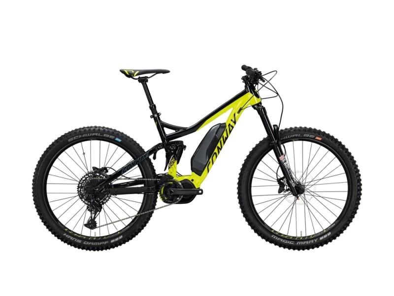 Conway eWME 427 schwarz,gelb