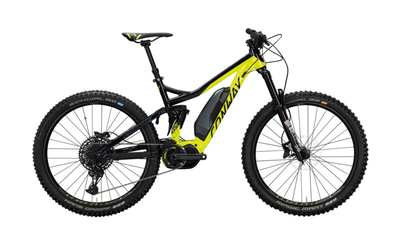 Conway eWME 427 schwarz,gelb E-Bike