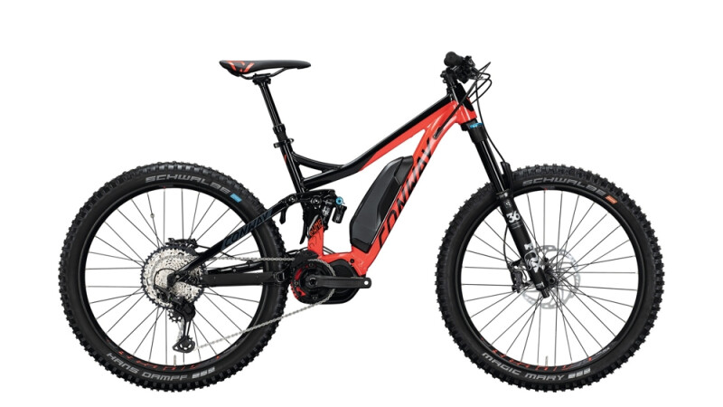 Conway eWME 627 schwarz,rot E-Bike