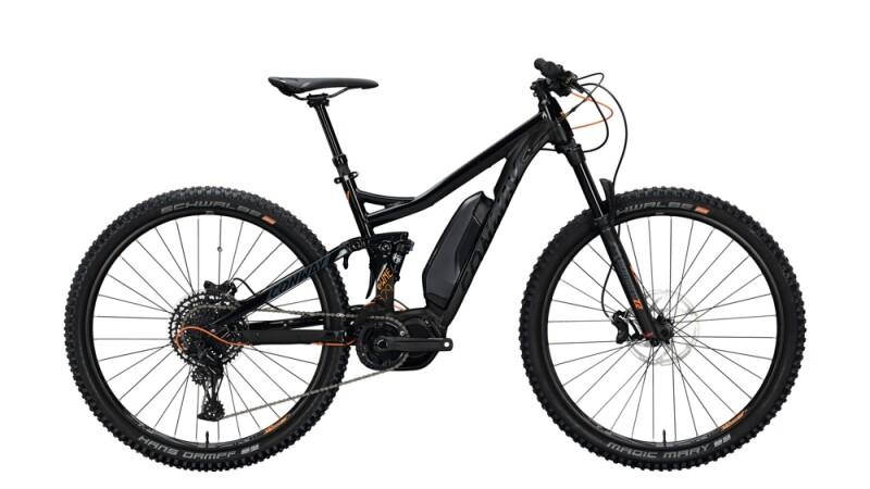 Conway eWME 329 schwarz,orange E-Bike
