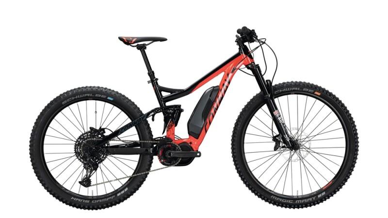 Conway eWME 427 MX schwarz,rot E-Bike