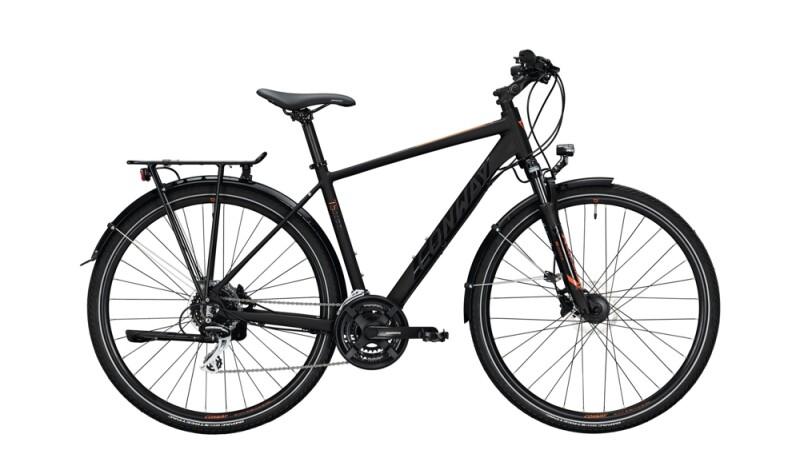 VELO  Fahrrad Komfort Sattel Trekkingrad Citybike E-Bike Schwarz