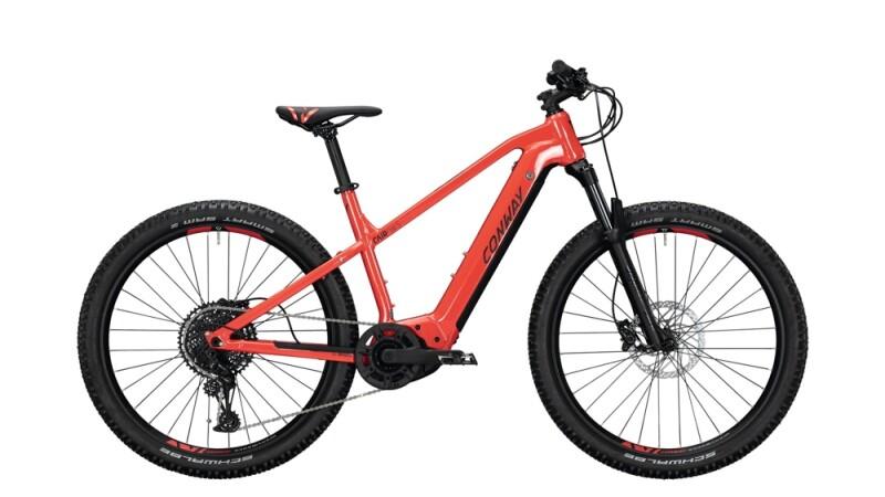 Conway Cairon S 627 schwarz,rot E-Bike