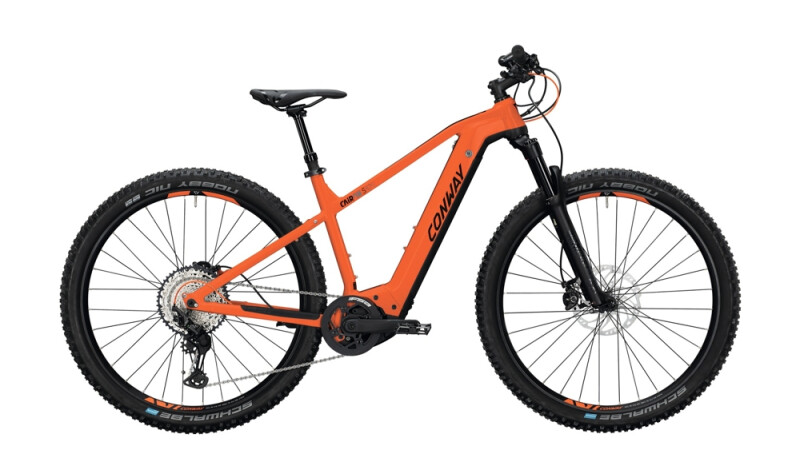 Conway Cairon S 829 schwarz,orange E-Bike
