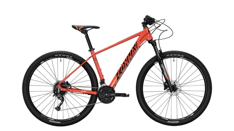 Conway MS 529 schwarz,rot Mountainbike