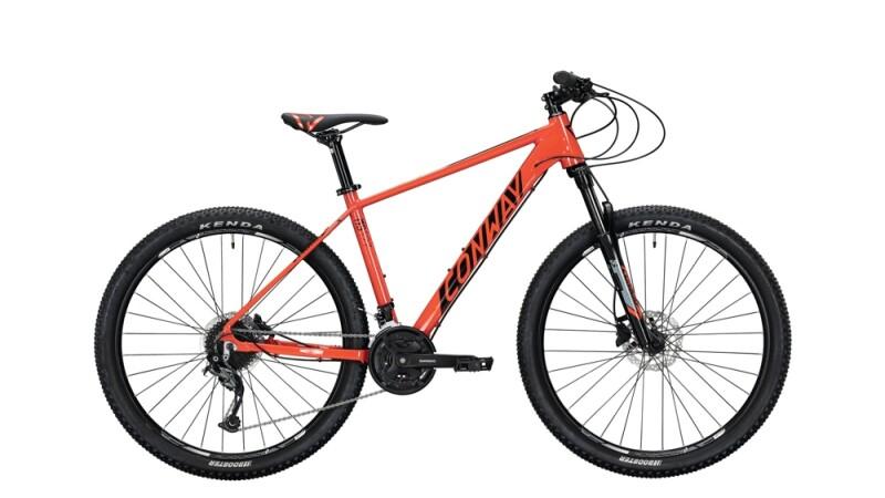 Conway MS 527 schwarz,rot Mountainbike