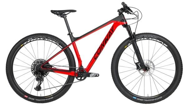 CONWAY - RLC 5 schwarz,rot
