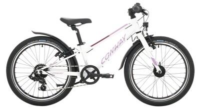 Conway MC 200 weiß,violett