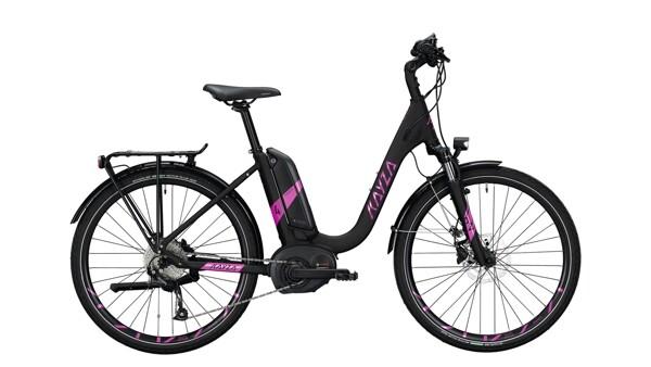 KAYZA - TANANA DRY 4 schwarz,violett