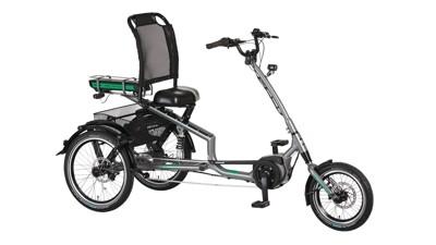 Pfau-Tec ELO-Scooter Trike grau
