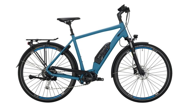 Victoria eTouring 6.4 silber,blau E-Bike