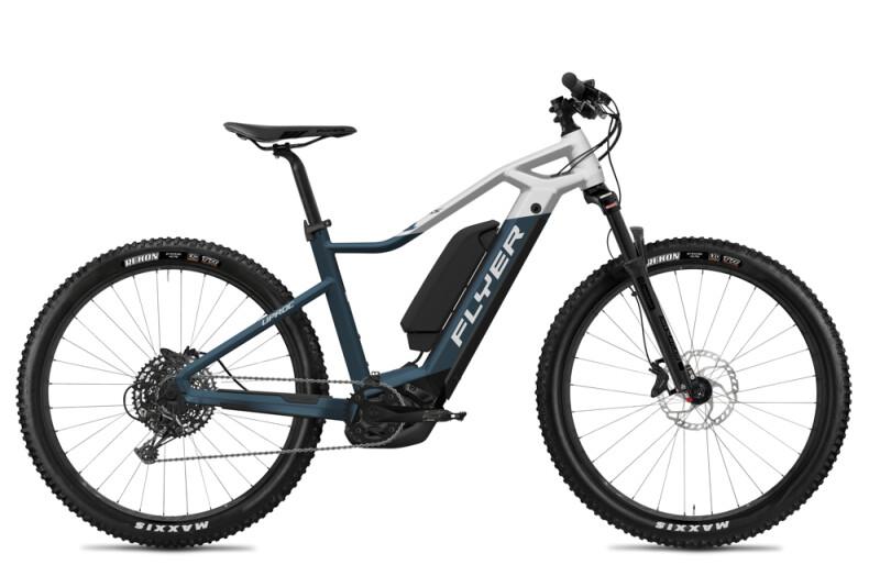 FLYER Uproc1 4.50 Space Blue / Solid White Matt E-Bike
