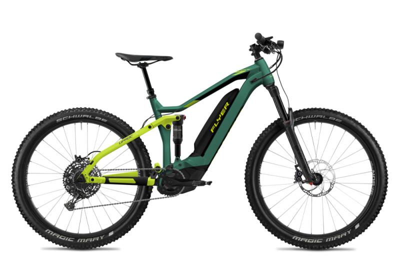 FLYER Uproc7 6.50 Opal Green / Lime Green Matt E-Bike