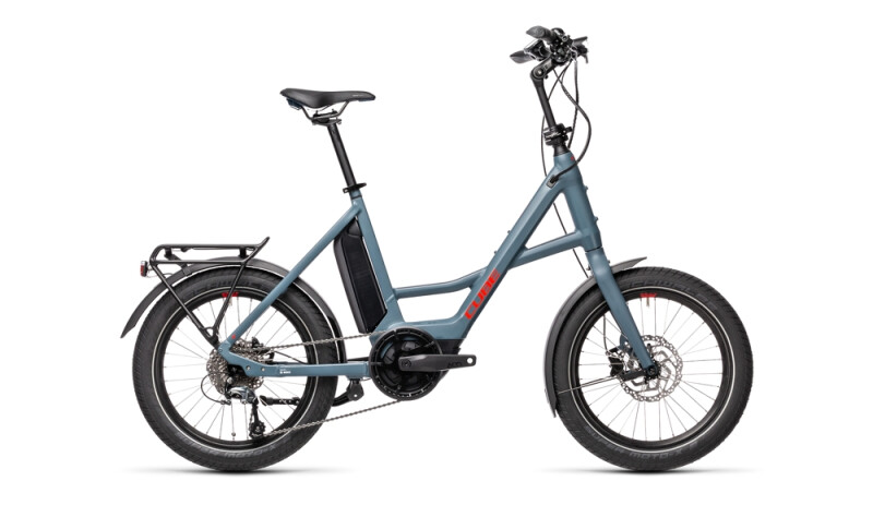 Cube Compact Hybrid Sport blue´n´red
