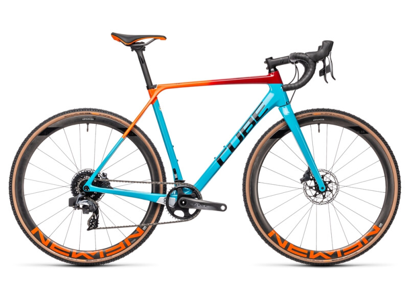 Cube Cross Race C:62 SLT blue´n´redfading